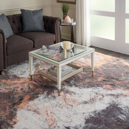 Abstract CORSICA Shag CRC05 Multi Rug