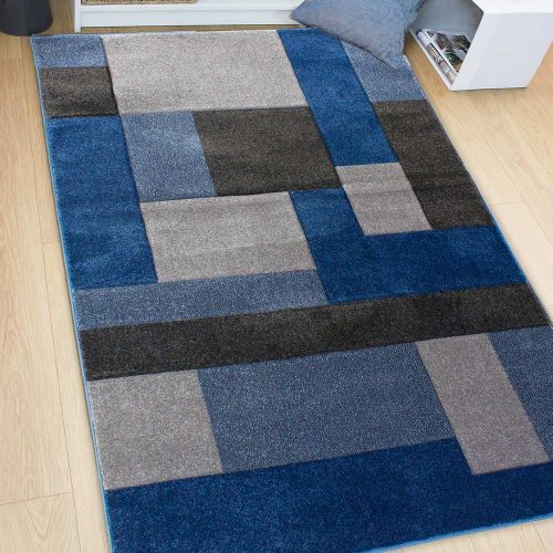 Cosmos Rug Blue Grey