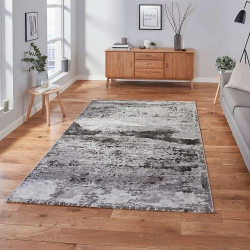 Craft 19788 Abstract Grey Rug