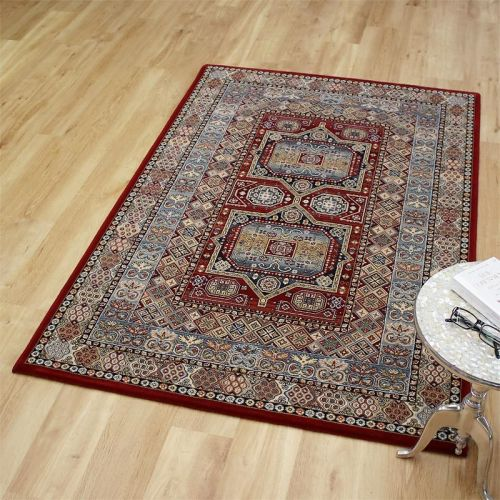 Da Vinci Rug 0147 Red Blue Multi