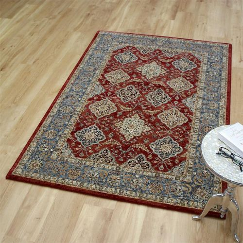 Da Vinci Rug 0163 Red Blue