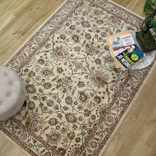 Da Vinci Rug Natural Rust 570166 6484