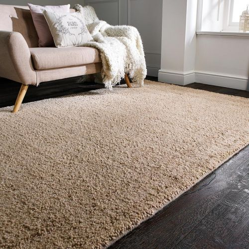 Darwin Natural Rug Chunky Wool