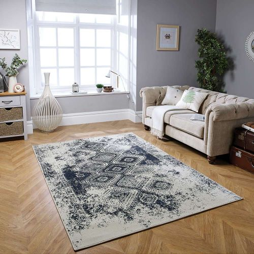 Richmond 5996 S Traditional Rug Blue