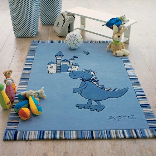 Esprit Dragon & castle Blue Rug