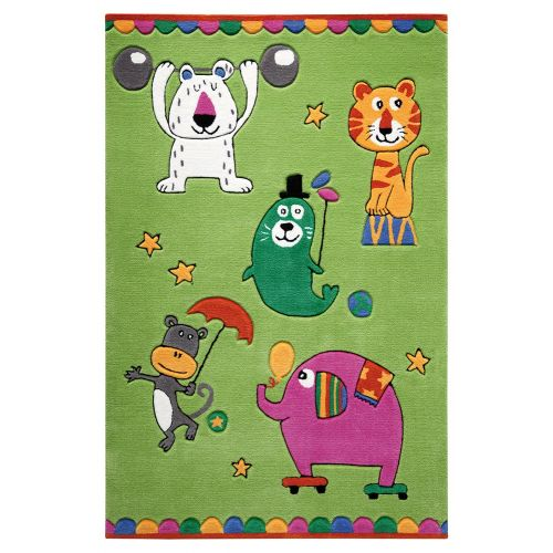 SMART KIDS Little Artists Green Rug