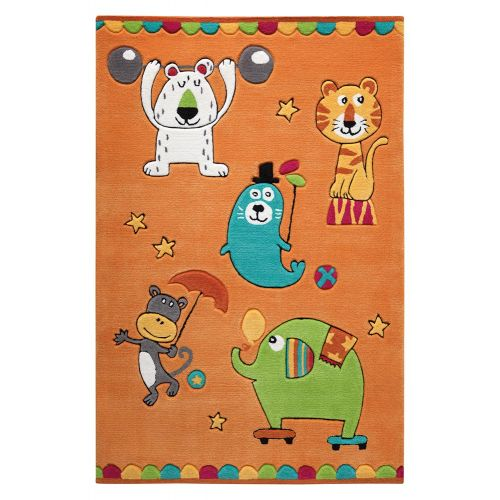 SMART KIDS Little Artists Orange Rug