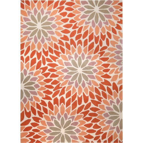Esprit Lotus Orange Rug