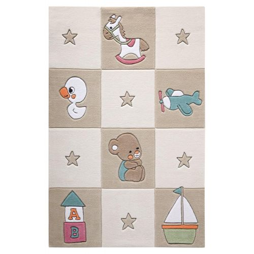 SMART KIDS Newborn Beige Rug