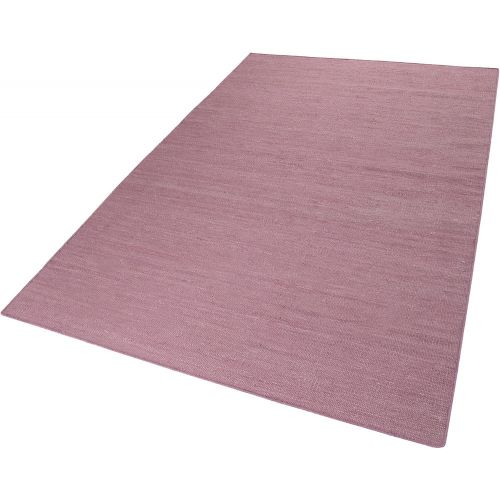 Esprit Rainbow Kelim Antique Pink Rug