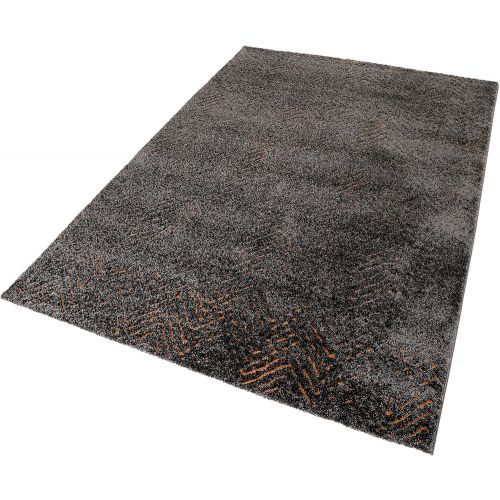 Esprit Relief Brown Orange Rug