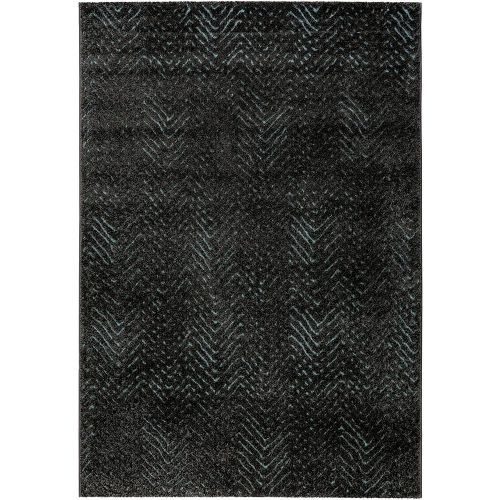 Esprit Relief Grey Blue Rug