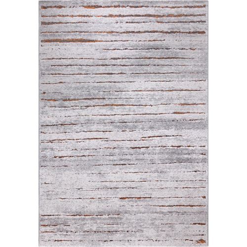 Esprit Woodland Grey Rust Rug