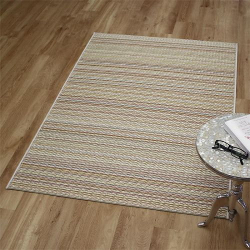 Flatweave Brighton Outdoor Rug Golden Multi