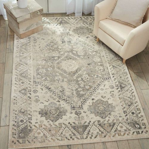 Fusion Rug Cream Grey FSS11