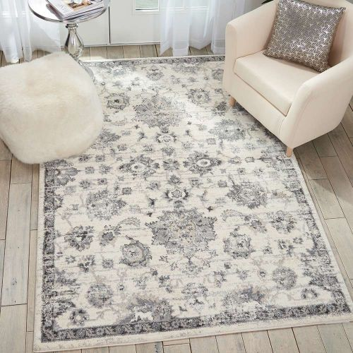 Fusion Rug Cream Grey FSS15