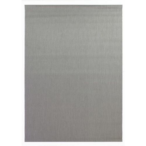 Grey Plain Thin Rug