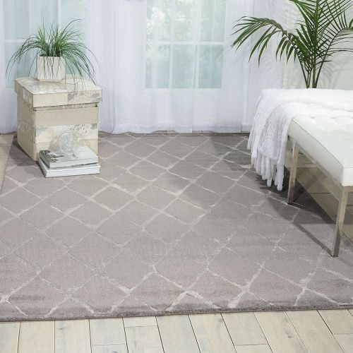 Grey Twilight Rug Diamonds TWI15