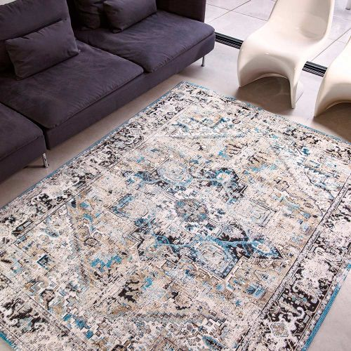 Heriz Antique Rug 8708 Golden Horn