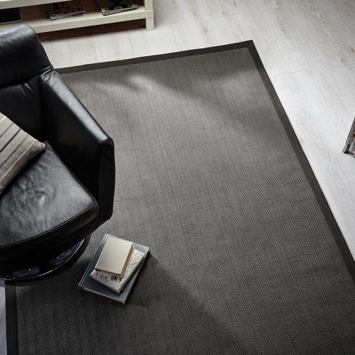 Herringbone Rug Grey