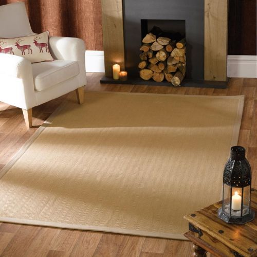 Herringbone Rug Natural