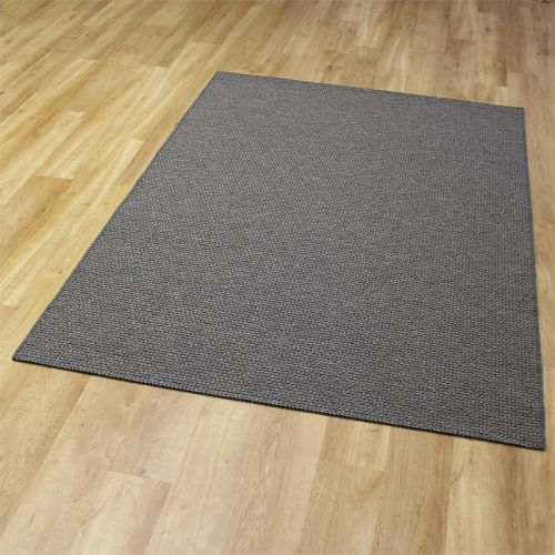 High Line Woolen Rug 3004 Dark Grey