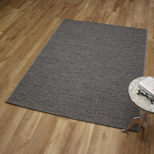 High Line Woolen Rug 3018 Mid Grey