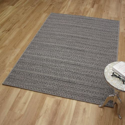 High Line Woolen Rug 3021 Mid Grey