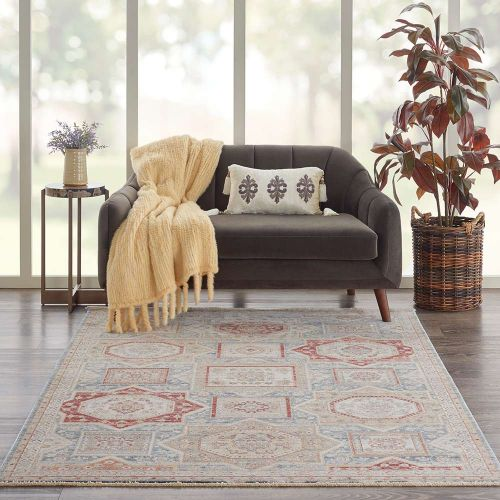 Homestead HMS02 Blue Multicolor Rug