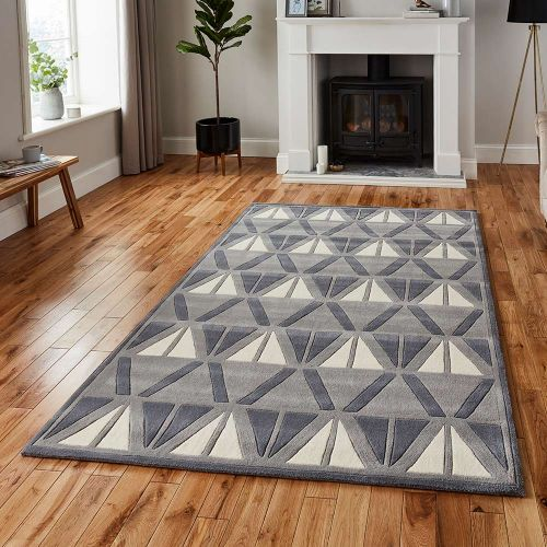 Hong Kong Rug 1374 Grey Ivory