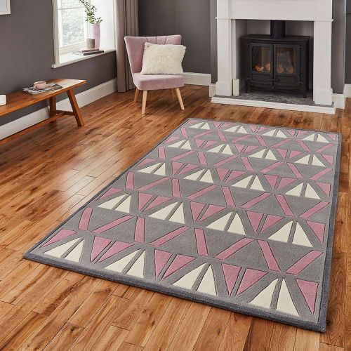 Hong Kong Rug 1374 Grey Rose