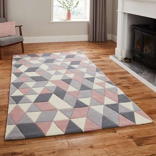 Hong Kong Rug 3653 Grey Rose