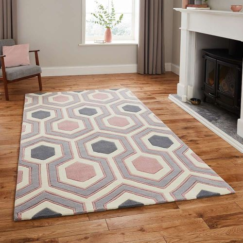 Hong Kong Rug 3661 Grey Rose