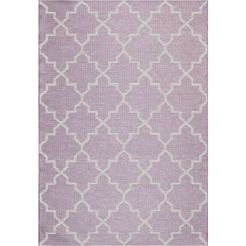 Indoor Outdoor Rug Aubergine Newquay