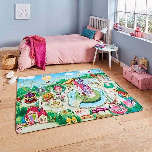 Inspire G2394 Childrens Theme Park Rug