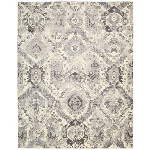 Ivory Grey Twilight Rug Persian Fade TWI03