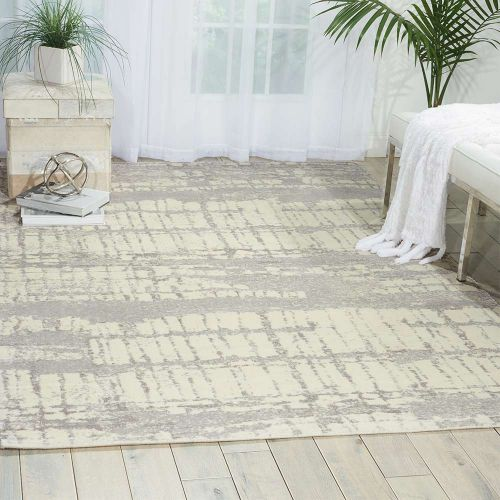 Ivory Twilight Rug Abstract TWI10