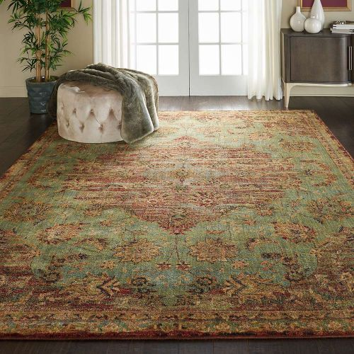 Traditional Jewel JEL01 Jade Rug