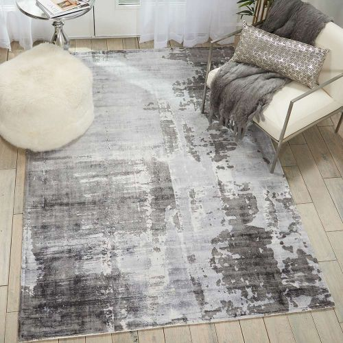 Kathy Ireland Rug KI373 Grey