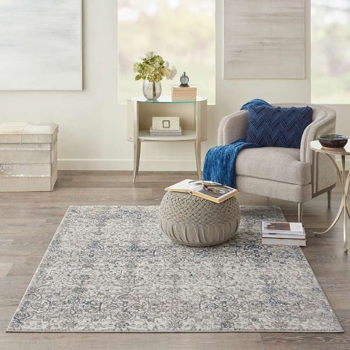 Ki40 Royal Terrace KI43 Beige Blue Rug