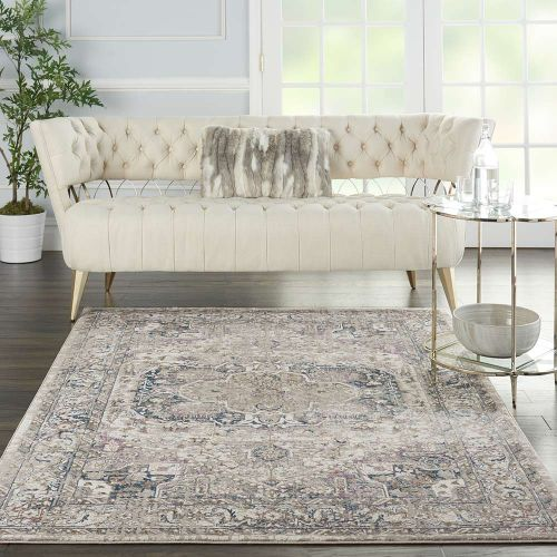 Ki40 Royal Terrace KI46 Ivory Multi Rug