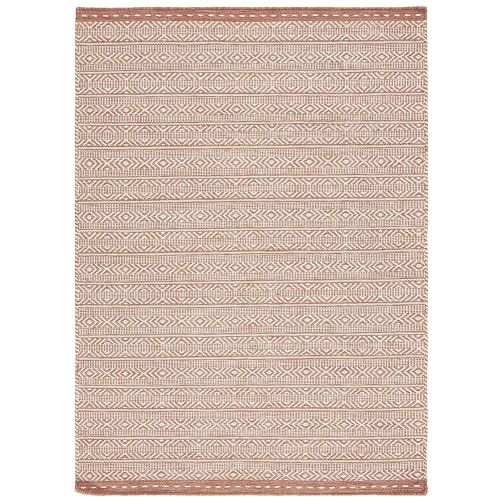 On Sale Knox Reversible Medium Rug Coral Wool Dhurry 120x170cm size