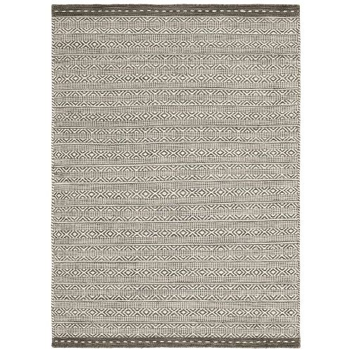 Knox Reversible Rug Taupe Wool Dhurry