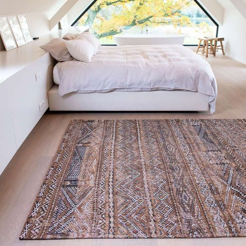 Antiquarian Kilim 9112 Agdal Brown Rug