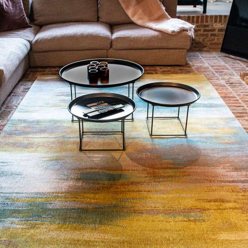 Atlantic's Monetti 9118 Nenuphar Bronze Rug