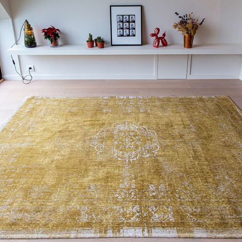 On Sale Fading World Medaillon 9145 Spring Moss Rug 200x280cm