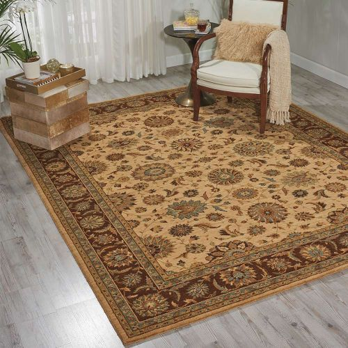Living Treasures Woolen Rug Beige LI05