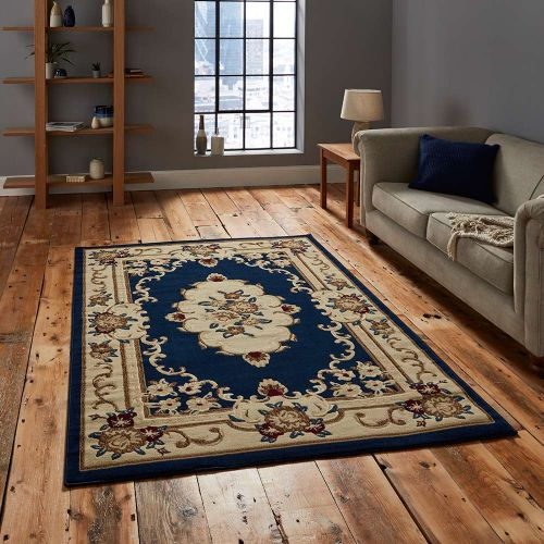 Marrakesh Rug Dark Blue