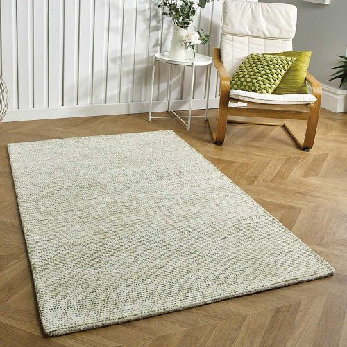 Milano Green Wool Rug