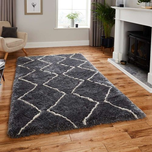 Morocco Rug 3742 Grey Cream